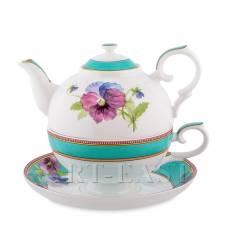 JK-119 Чайный набор ''Виола'' (Viola Pavone)