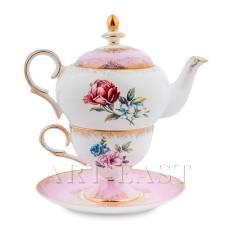 JK-127 Чайний набір ''Квітка Неаполя'' (Fiore Napoli Pavone)