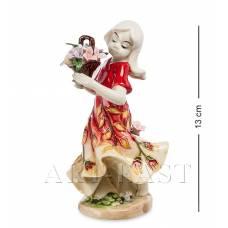 "JP-12/16 Статуэтка ""Девушка с цветами"" (Pavone)"