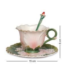 FM-01/25 Чайная пара ''Герань'' (Pavone)